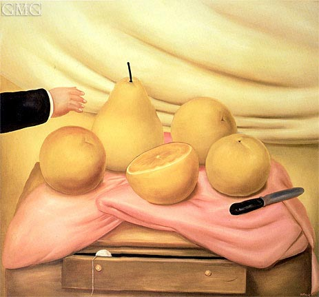 Still Life with Fruits, 1978 | Botero | Gemälde Reproduktion