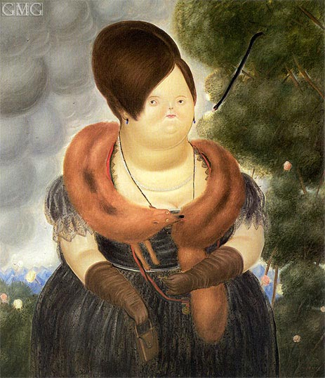 The First Lady, 1969 | Botero | Painting Reproduction