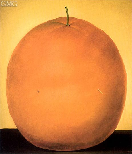 Orange, 1977 | Botero | Painting Reproduction