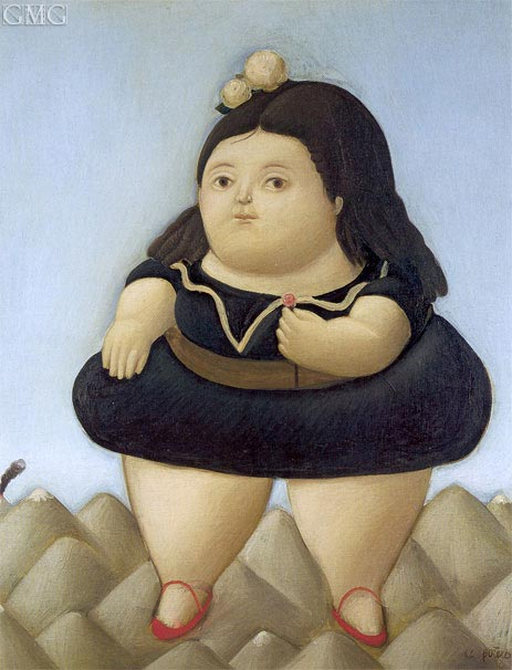 Excursion to the Volcano, 1966 | Botero | Painting Reproduction