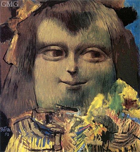 Botero | Mona Lisa at the Age of 12, 1959