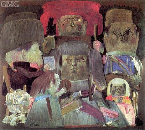 Botero | Camera degli sposi (Homage to Mantegna II), 1961