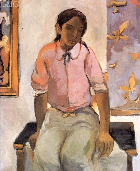 Botero | Indian Girl, 1952