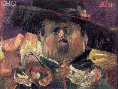 Botero | Self Portrait, 1959/60