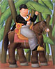 The President | Fernando Botero (inspired by)