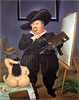 Self-Portrait in the Costume of Velazquez | Fernando Botero (inspired by)