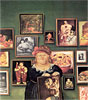 The Collector | Fernando Botero (inspired by)