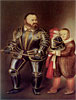 Alof de Vignancourt (after Caravaggio) | Fernando Botero (inspired by)