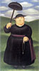 Walk in the Hills | Fernando Botero (inspired by)