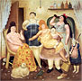 The House of Mariduque | Fernando Botero (inspired by)