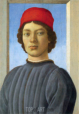 Filippino Lippi | Portrait of a Youth, c.1480
