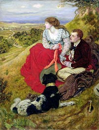 Byron's Dream, 1874 by Ford Madox Brown | Painting Reproduction