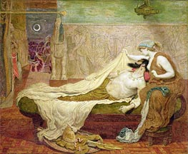 The Dream of Sardanapalus, 1871 by Ford Madox Brown | Painting Reproduction