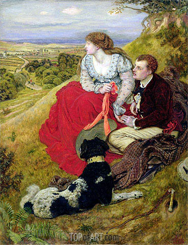 Byron's Dream, 1874 | Ford Madox Brown | Painting Reproduction
