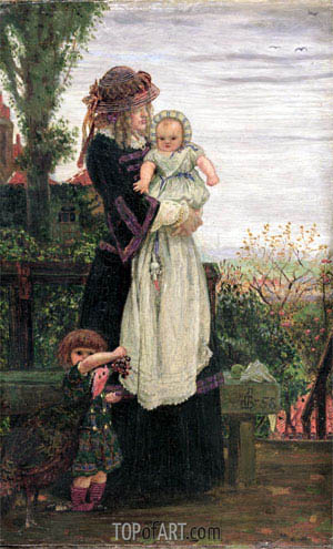 Out of Town, 1858 | Ford Madox Brown| Painting Reproduction