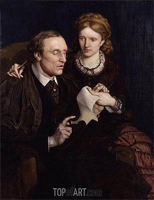 Ford Madox Brown | Henry Fawcett, Dame Millicent Garrett Fawcett, 1872