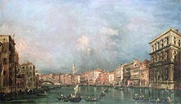 The Grand Canal, Venice | Francesco Guardi | Painting Reproduction