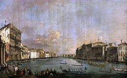 Regatta in Venice, c.1770 by Francesco Guardi | Painting Reproduction