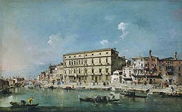View of Venice, undated by Francesco Guardi | Painting Reproduction