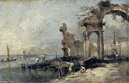 Capriccio with Ruins | Francesco Guardi | outdated