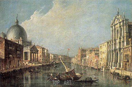 Francesco Guardi | Venice: Canale Grande, c.1777
