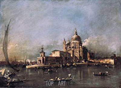 Santa Maria della Salute, c.1780 | Francesco Guardi| Painting Reproduction