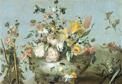 Flowers, undated | Francesco Guardi | Painting Reproduction