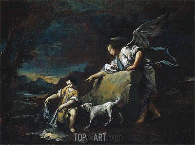 Francesco Guardi | Tobias and the Angel, 1759