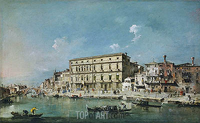 View of Venice, undated | Francesco Guardi| Gemälde Reproduktion