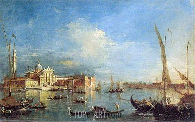 Francesco Guardi | Venice: San Giorgio Maggiore with the Giudecca, c.1780