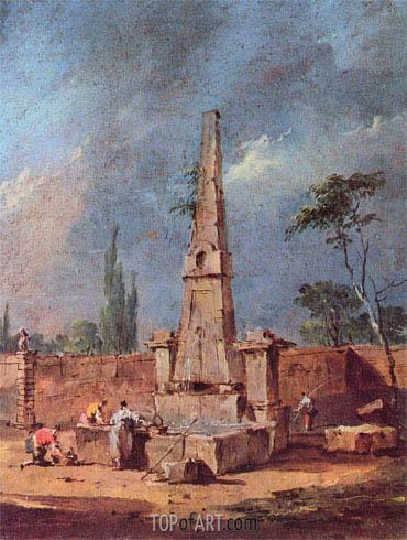 Francesco Guardi | Capriccio, undated