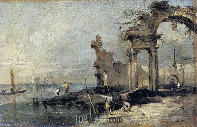 Francesco Guardi | Capriccio with Ruins, undated