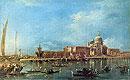 Venice: the Dogana with Santa Maria della Salute | Francesco Guardi