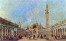 The Festival at Piazza San Marco | Francesco Guardi