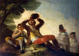 The Drinker | Goya | Painting Reproduction