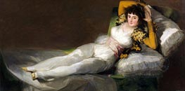 The Clothed Maja, c.1800/08 by Goya | Painting Reproduction