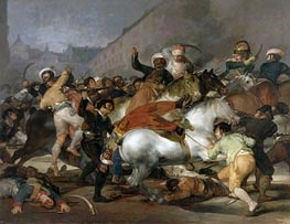 The 2nd of May 1808 in Madrid, 1814 by Goya | Painting Reproduction