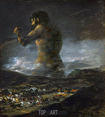The Colossus, undated | Goya| Painting Reproduction