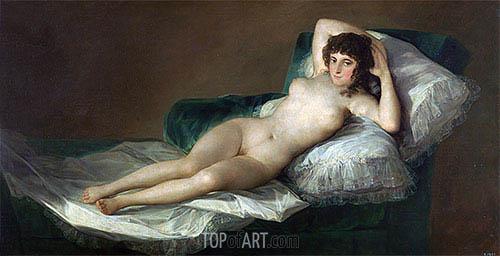 Goya | The Nude Maja, c.1797/00