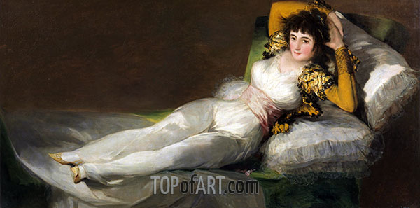 The Clothed Maja, c.1800/08 | Goya | Painting Reproduction