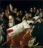The Exhibition of the Body of St. Bonaventure | Francisco de Zurbaran