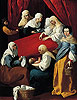 The Birth of the Virgin | Francisco de Zurbaran