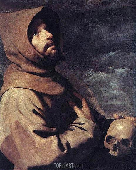 Zurbaran | Saint Francis in Ecstasy, c.1660