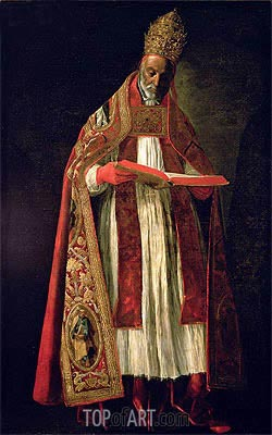 Zurbaran | St. Gregory the Great,