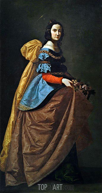Zurbaran | Saint Elisabeth of Portugal, c.1635