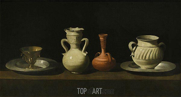Zurbaran | Still Life with Vessels, c.1650