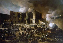 Belagerung von Burgos Schloß, 1813 von François-Joseph Heim | Gemälde-Reproduktion