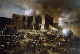 Siege of Burgos Castle, 1813 by François-Joseph Heim | Painting Reproduction