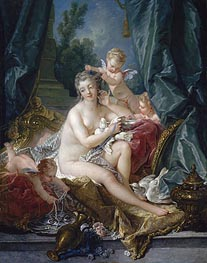 The Toilet of Venus, 1751 von Boucher | Gemälde-Reproduktion