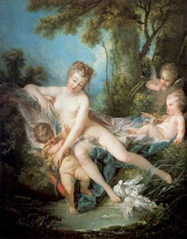 Venus Consoling Love, 1751 by Boucher | Painting Reproduction